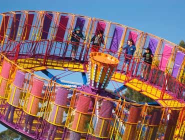 Fosters carnival Amusements Round Up ride