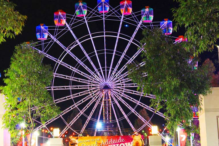 Royal Adelaide Show amusement rides
